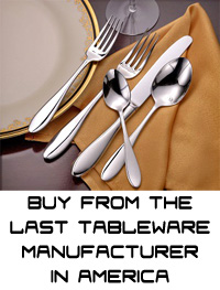 Made in USA flatware, forks, knives, spoons, liberty tabletop